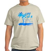 Life Is A Beach Light T-Shirt