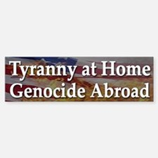 USA Incorporated Tyranny - Bumper Bumper Bumper Sticker