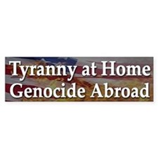 USA Incorporated Tyranny - Bumper Bumper Sticker