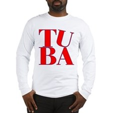 BandNerd.com -- Tuba Long Sleeve T-Shirt