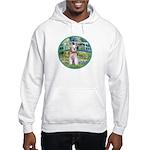 Bridge/Schnauzer #9 Hooded Sweatshirt