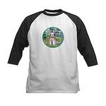 Bridge/Schnauzer #9 Kids Baseball Jersey