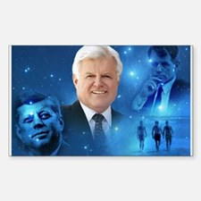 Senator Edward Ted Kennedy Rectangle Decal