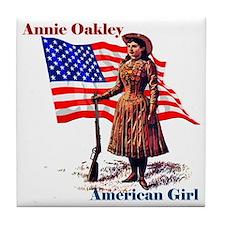 Unique Annie oakley Tile Coaster