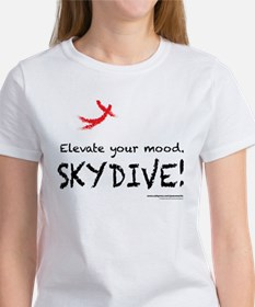 Women's Elevate Your Mood Skydiver T-Shirt