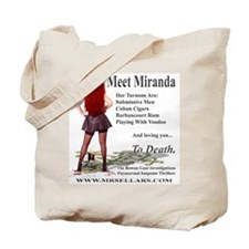 Miranda Logoed Apparel Tote Bag