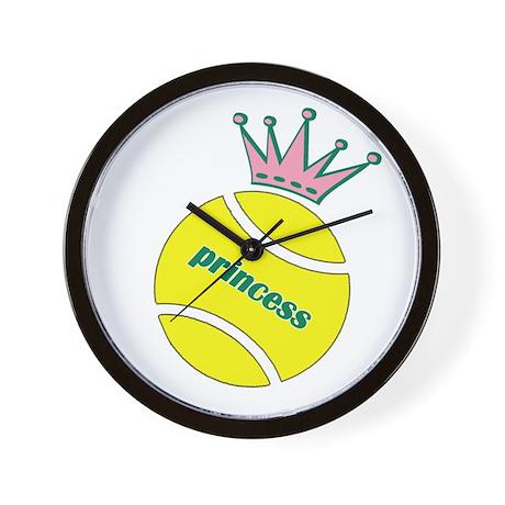 Tennis Princess Wall Clock