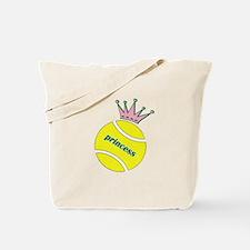 Tennis Princess Tote Bag