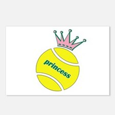 Tennis Princess Postcards (Package of 8)