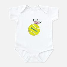 Tennis Princess Infant Bodysuit