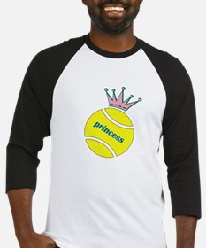 Tennis Princess Baseball Jersey
