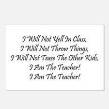 I Am The Teacher! Postcards (Package of 8)