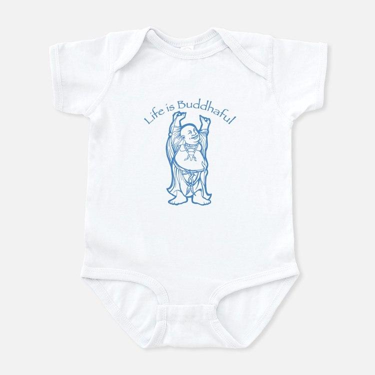 Life is Buddhaful Infant Bodysuit