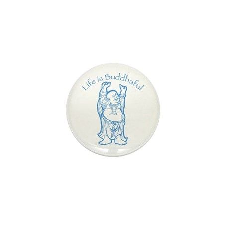 Life is Buddhaful Mini Button (100 pack)