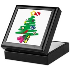 A Very Scuba Christmas Keepsake Box