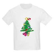 A Very Scuba Christmas Kids T-Shirt