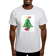 A Very Scuba Christmas Ash Grey T-Shirt