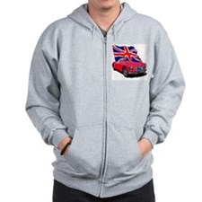 Unique Father Zip Hoodie