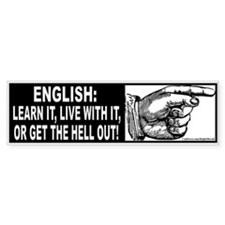 Learn English! (sticker)