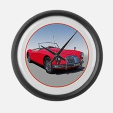 Unique Sports cars Large Wall Clock