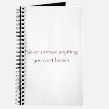 Banish Journal