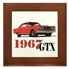 Cute Vehicle Framed Tile