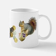 Dreidel Squirrel Mug