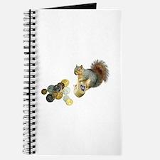 Dreidel Squirrel Journal