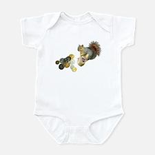 Dreidel Squirrel Infant Bodysuit