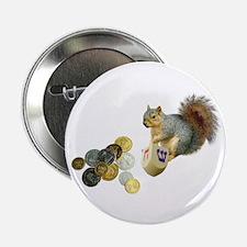 """Dreidel Squirrel 2.25"""" Button"""