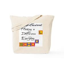 Paraprofessional Tote Bag