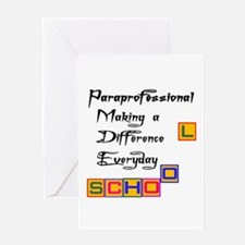 Funny Teacher assistant Greeting Card