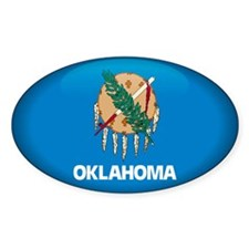 Oklahoma Oval Decal