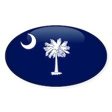 South Carolina Oval Decal