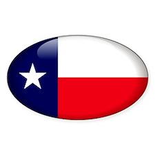Texas Oval Decal