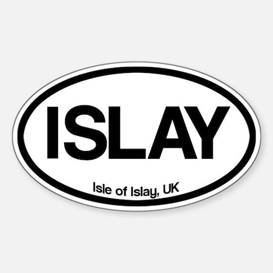 Isle of Islay Oval Decal
