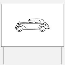 Mercedes 180 Yard Sign