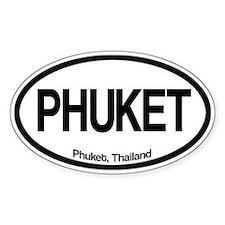 Phuket Oval Bumper Stickers