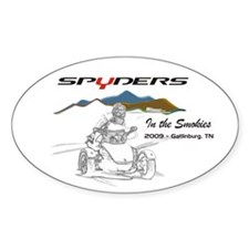 Spyders In The Smokies Decal