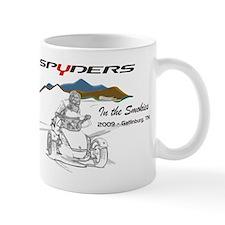 Spyders In The Smokies Mug