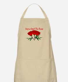Smell The Roses BBQ Apron