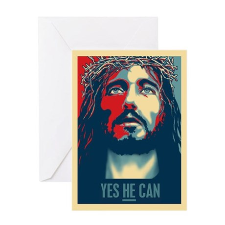 Yes HE Can Greeting Card
