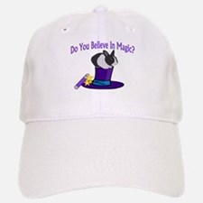 Believe In Magic Baseball Baseball Cap