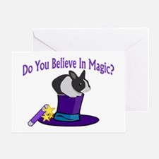 Believe In Magic Greeting Card