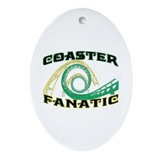 Coaster Fanatic Oval Ornament