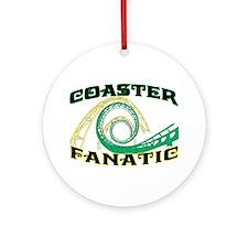 Coaster Fanatic Ornament (Round)