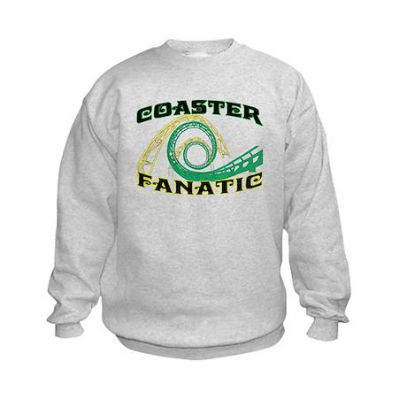 Coaster Fanatic Kids Sweatshirt