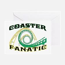 Coaster Fanatic Greeting Card