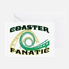 Coaster Fanatic Greeting Cards (Pk of 10)
