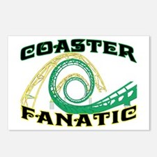 Coaster Fanatic Postcards (Package of 8)